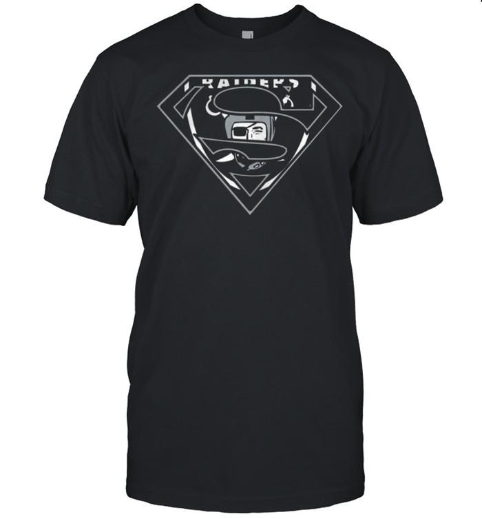 Oakland Raiders Superman 2021 shirt