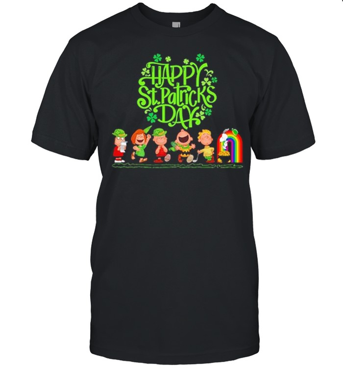 Snoopy And Friends Happy St Patricks Day shirt