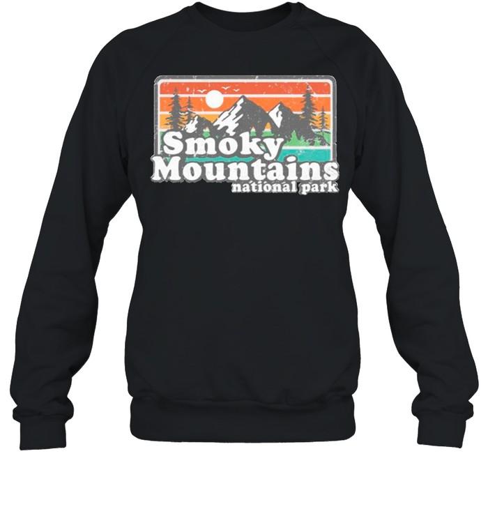 Smoky mountains national park shirt Unisex Sweatshirt