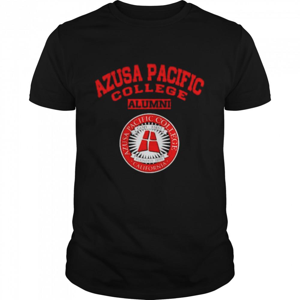 Azusa Pacific College Alumni California Shirt