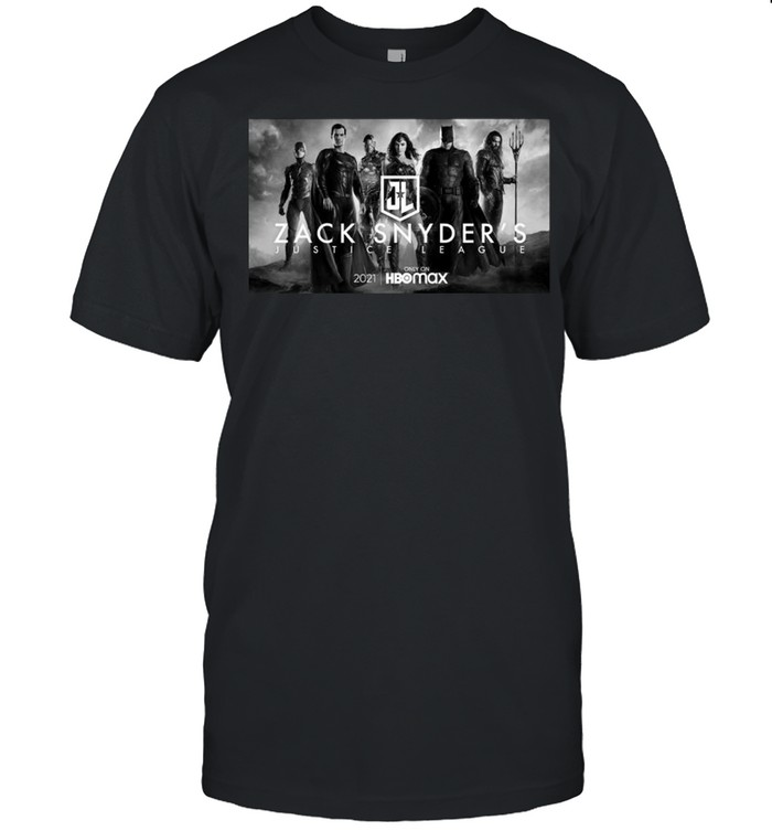 The Zack Snyder Justice League Poster 2021 HBO Movie shirt