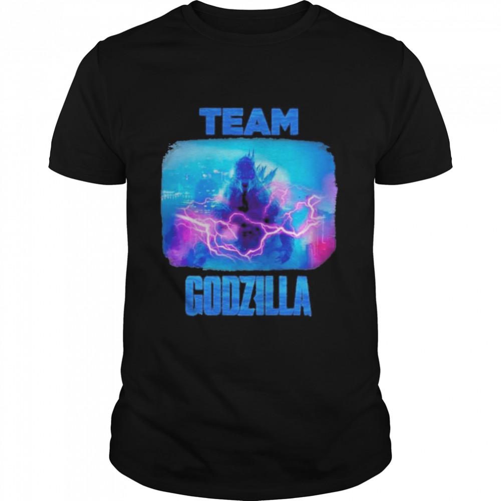 Team Godzilla 2021 shirt