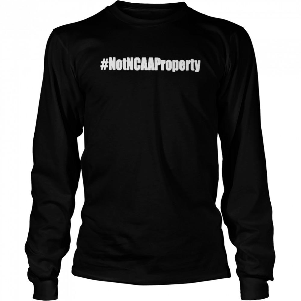 Not NCAA property shirt Long Sleeved T-shirt