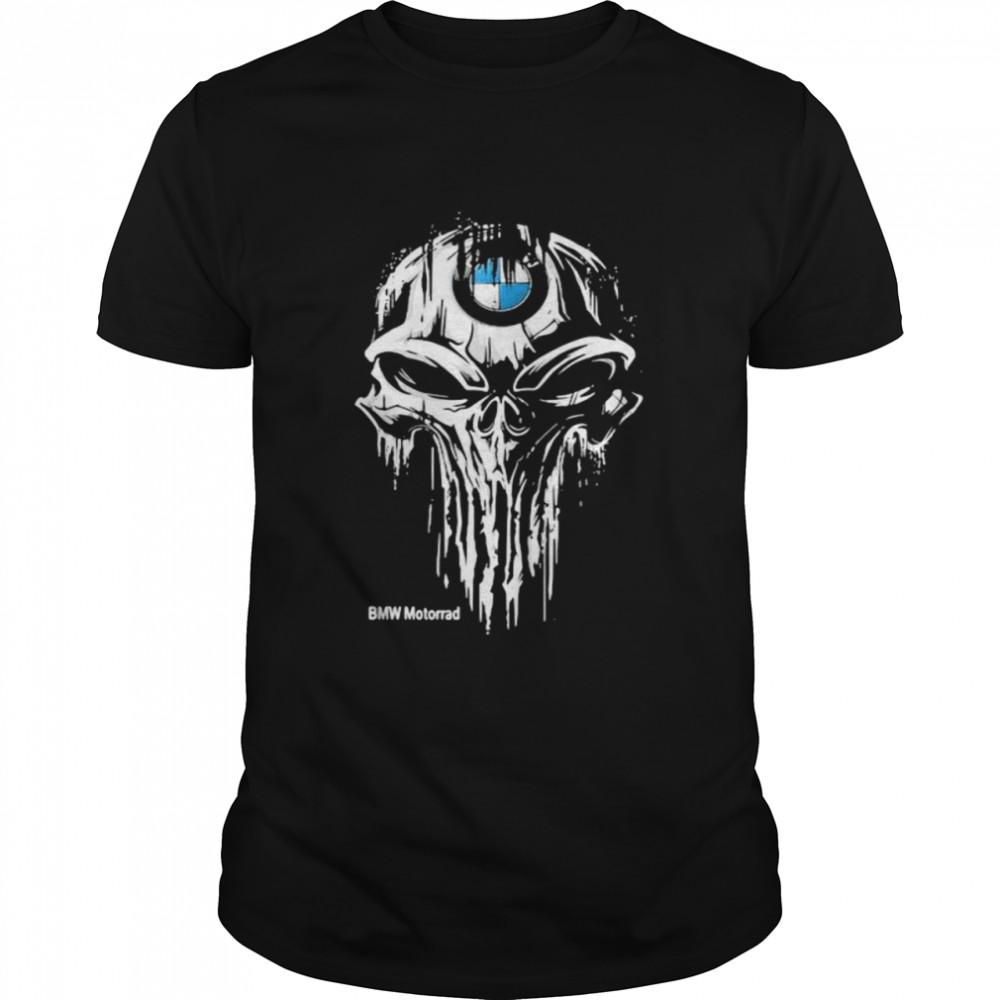 Punisher With Bmw Motorrad Logo Shirt