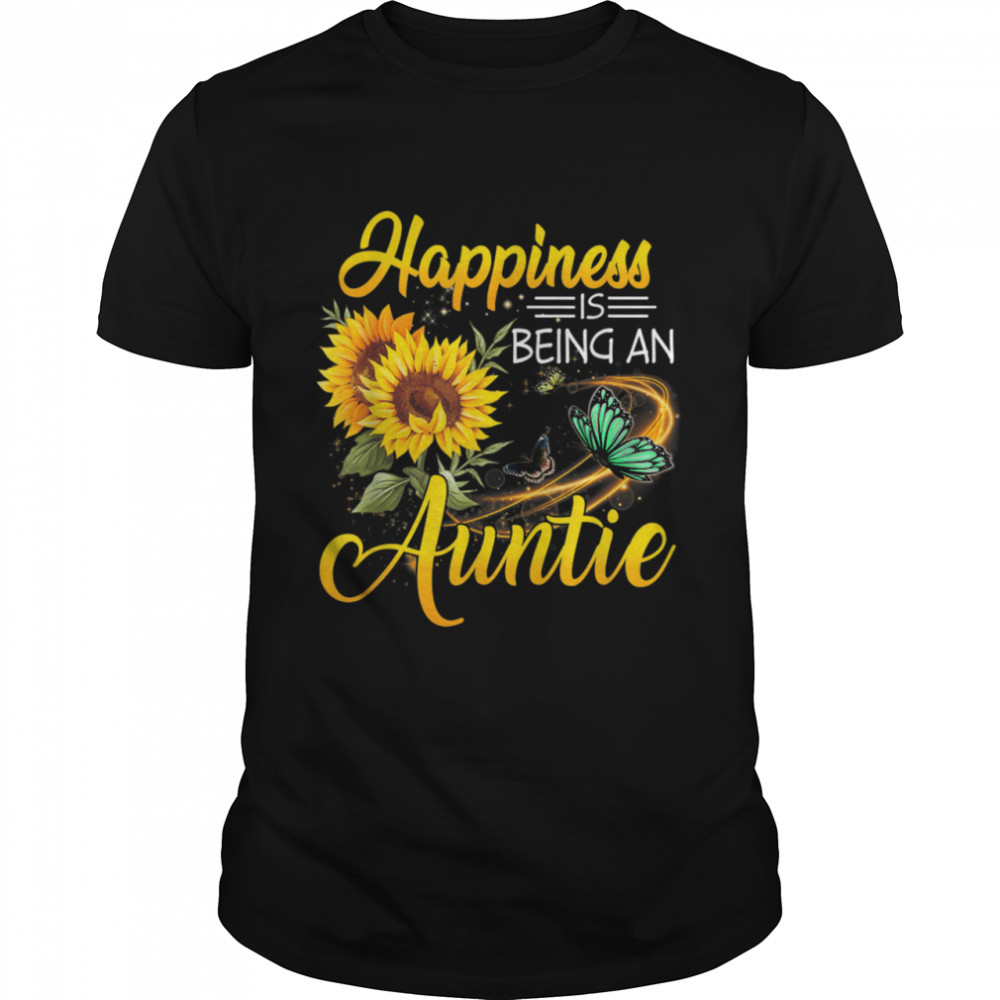 Happiness Is Being An Auntie Shirt