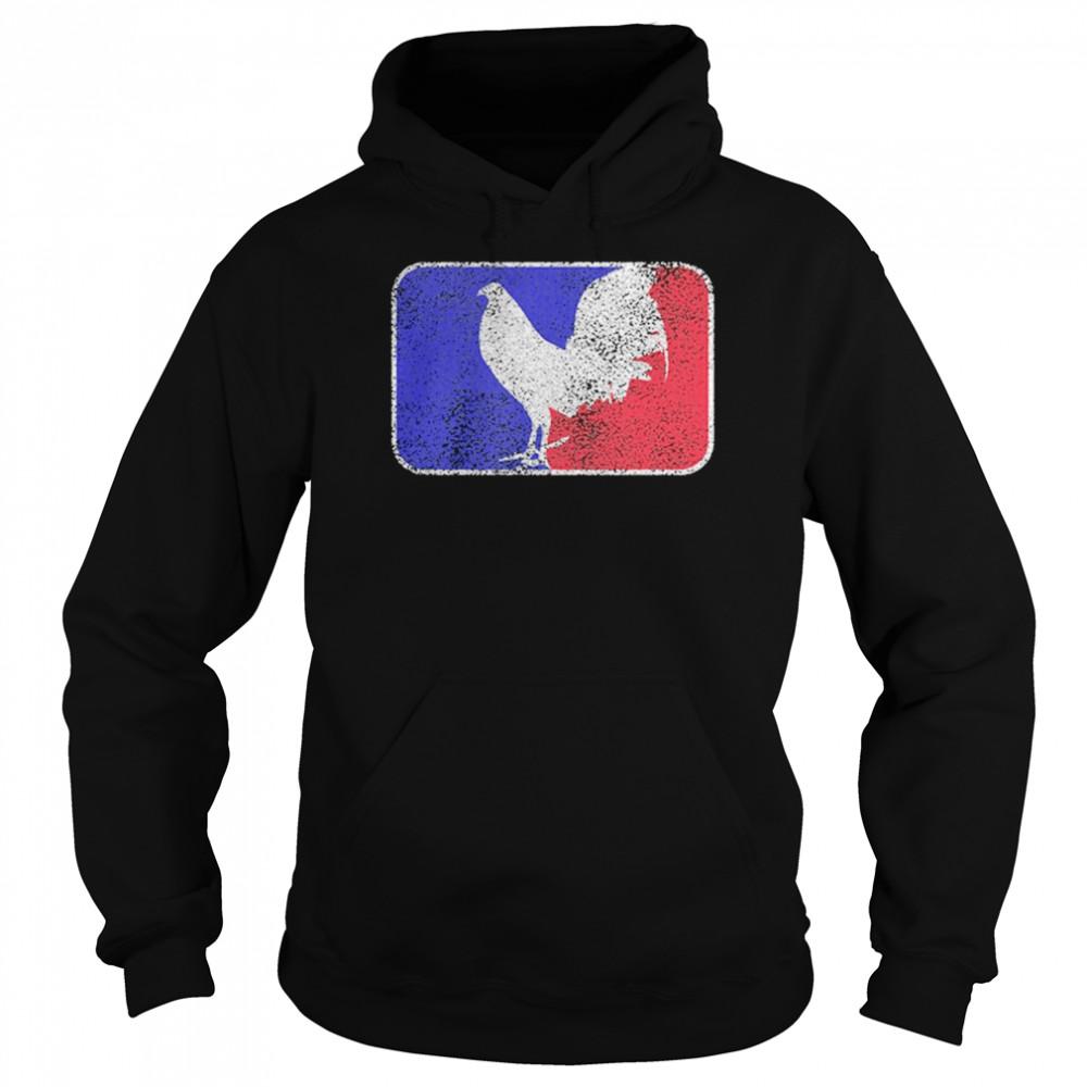 Chicken France Flag shirt Unisex Hoodie