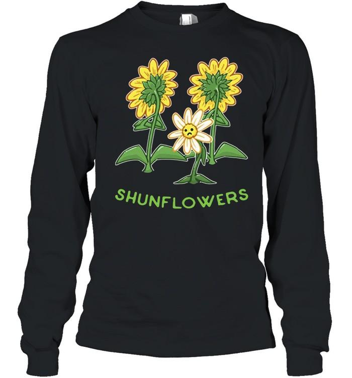 Sunflowers sad shirt Long Sleeved T-shirt