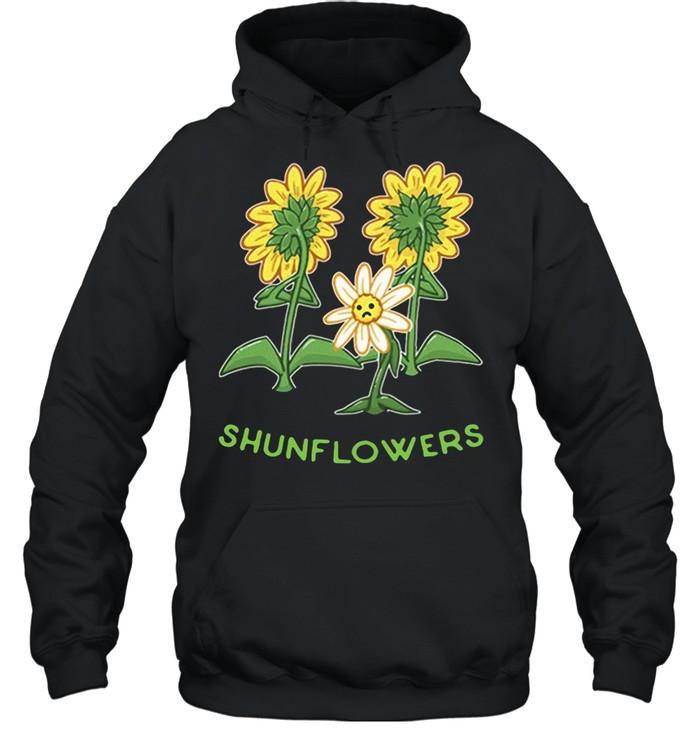 Sunflowers sad shirt Unisex Hoodie