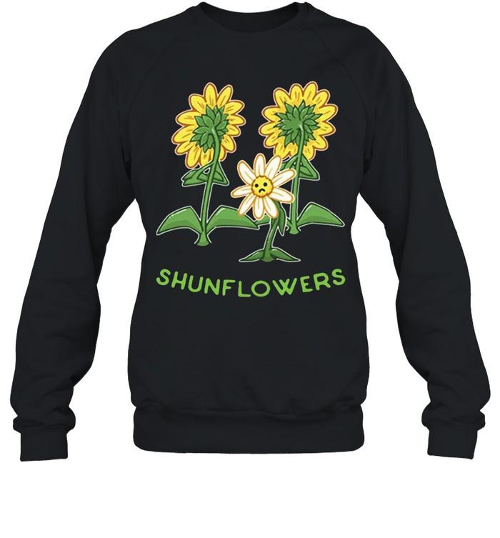 Sunflowers sad shirt Unisex Sweatshirt